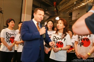 Don't Give Up Choir  - Greg Kelly - © http://gospelnow.org/Gospel Now New York